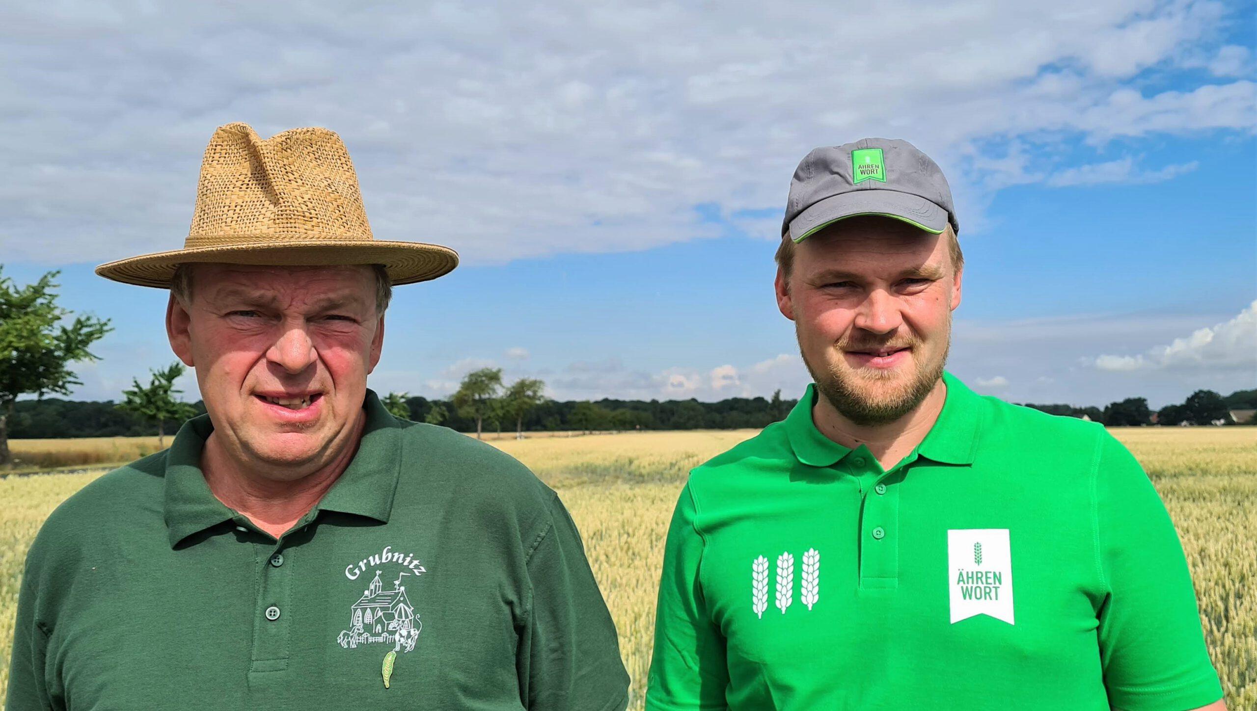Hartmut Gödicke und sein Sohn Stefan - Landwirte aus Leidenschaft.