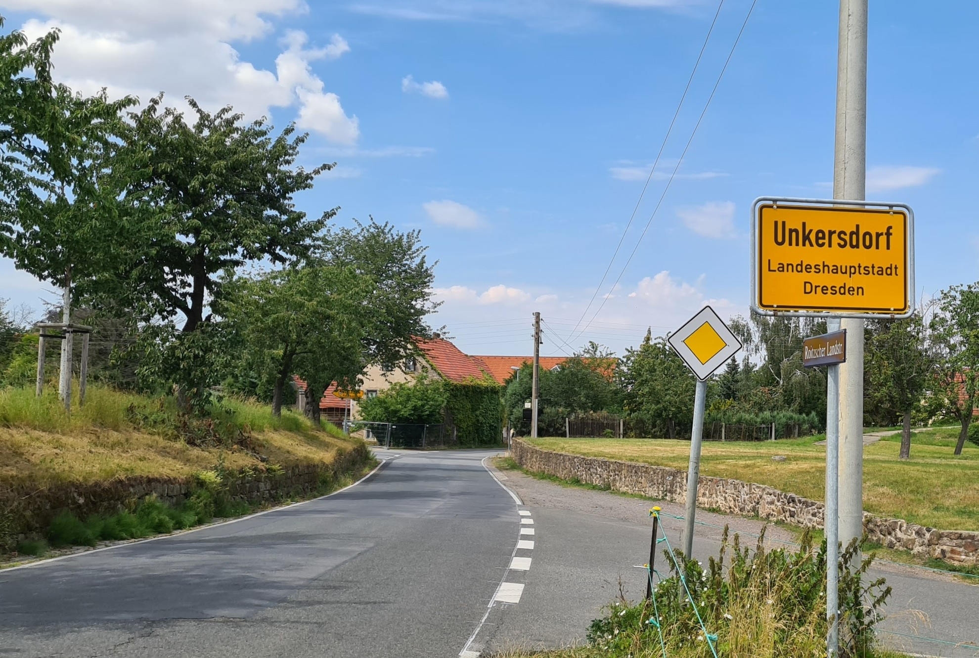 Unkersdorf ist der westlichste Stadtteil der Stadt Dresden. Hier sitzt die Irmer GbR.