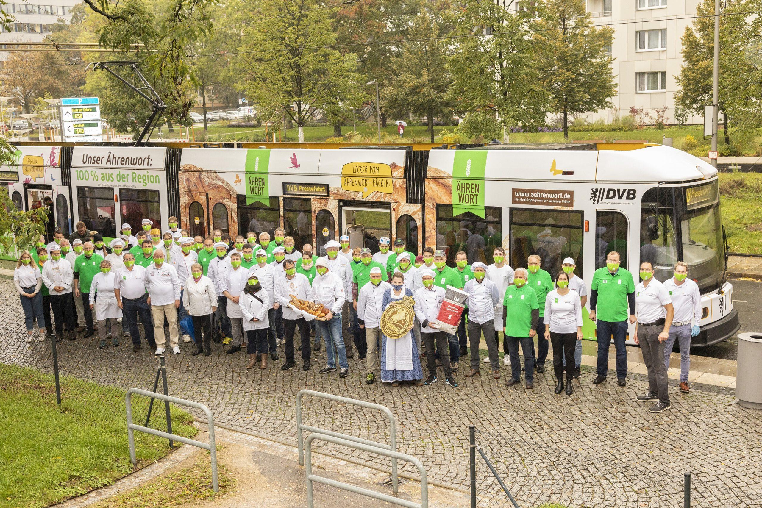 Bäcker, Müller, Landwirte - sie gemeinsam stehen für das Ährenwort-Qualitätsprogramm!