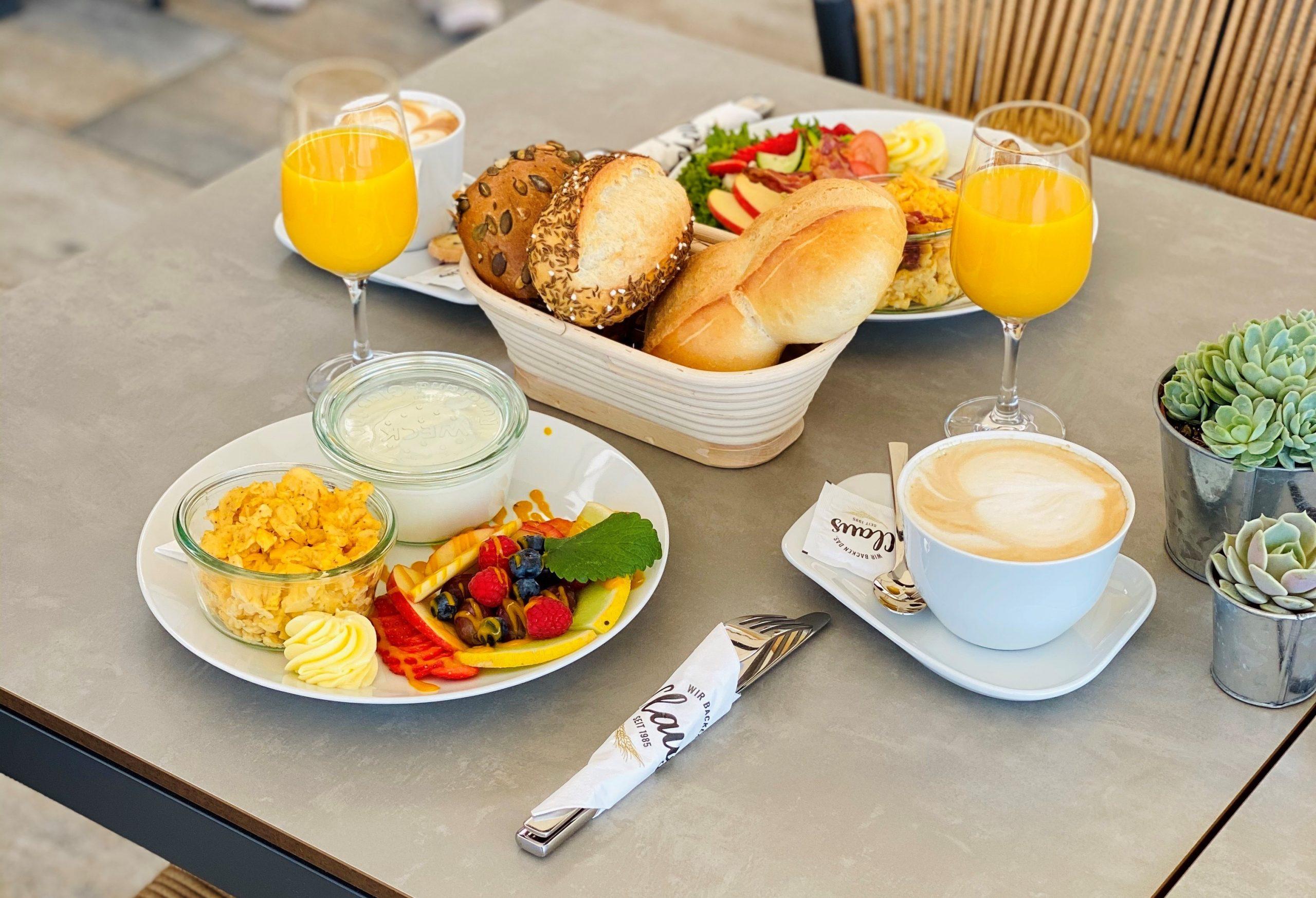 Das Geschäft ändert sich - mittlerweile bietet Bäckerei Claus auch leckeres Frühstück an.