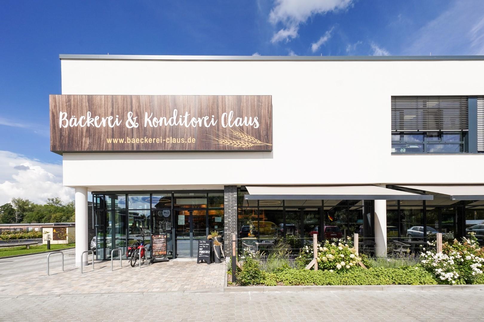 Das ist die neue Hauptzentrale der Bäckerei Claus.
