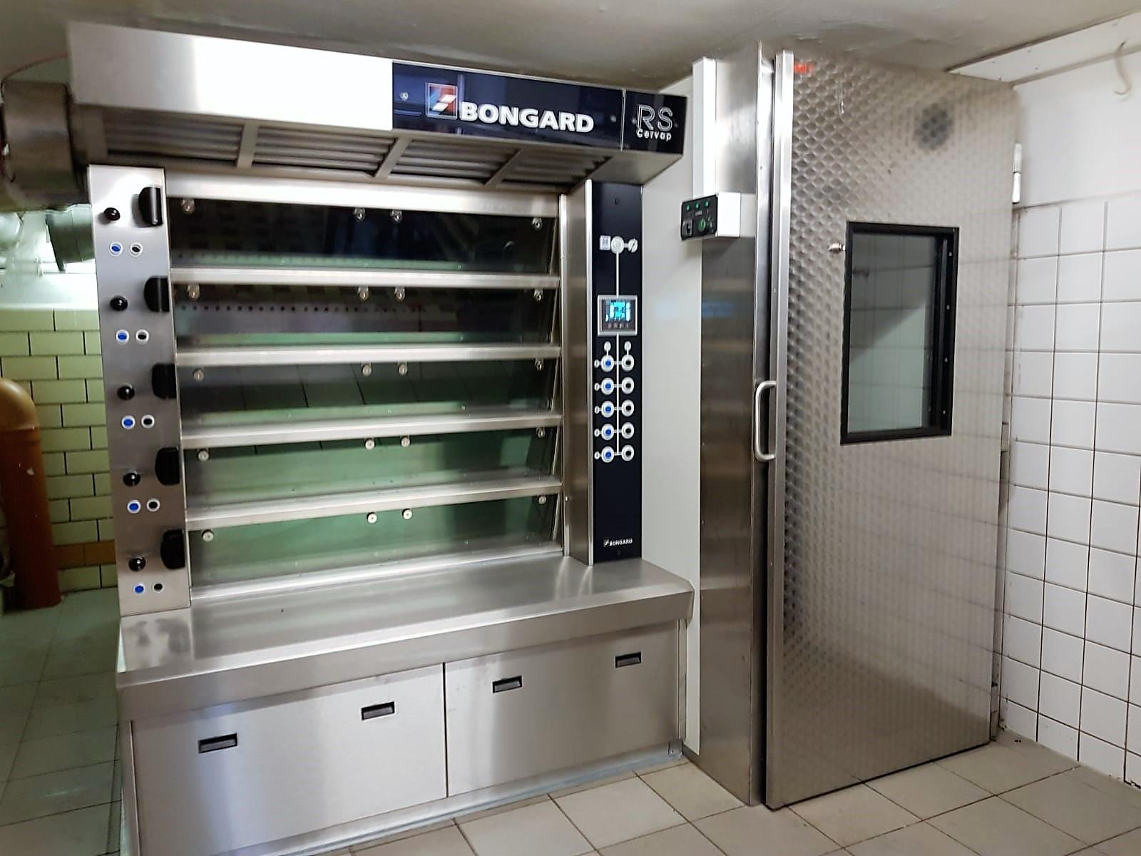 Das ist der neue Ofen der Bäckerei Neubert.