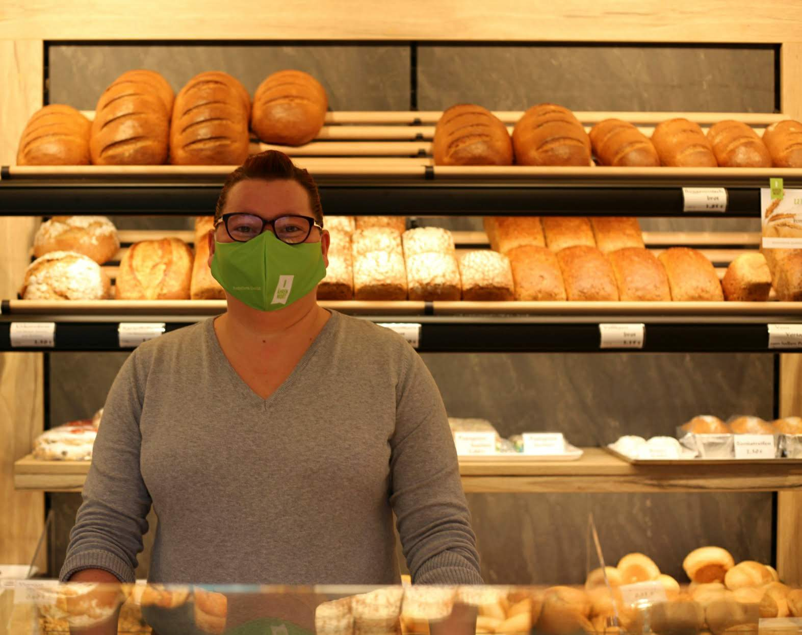 Seit einigen Monaten gibt's einen modernen Verkaufsraum bei Bäckerei Kirn. Der alte stammte noch aus den 1990er Jahren...