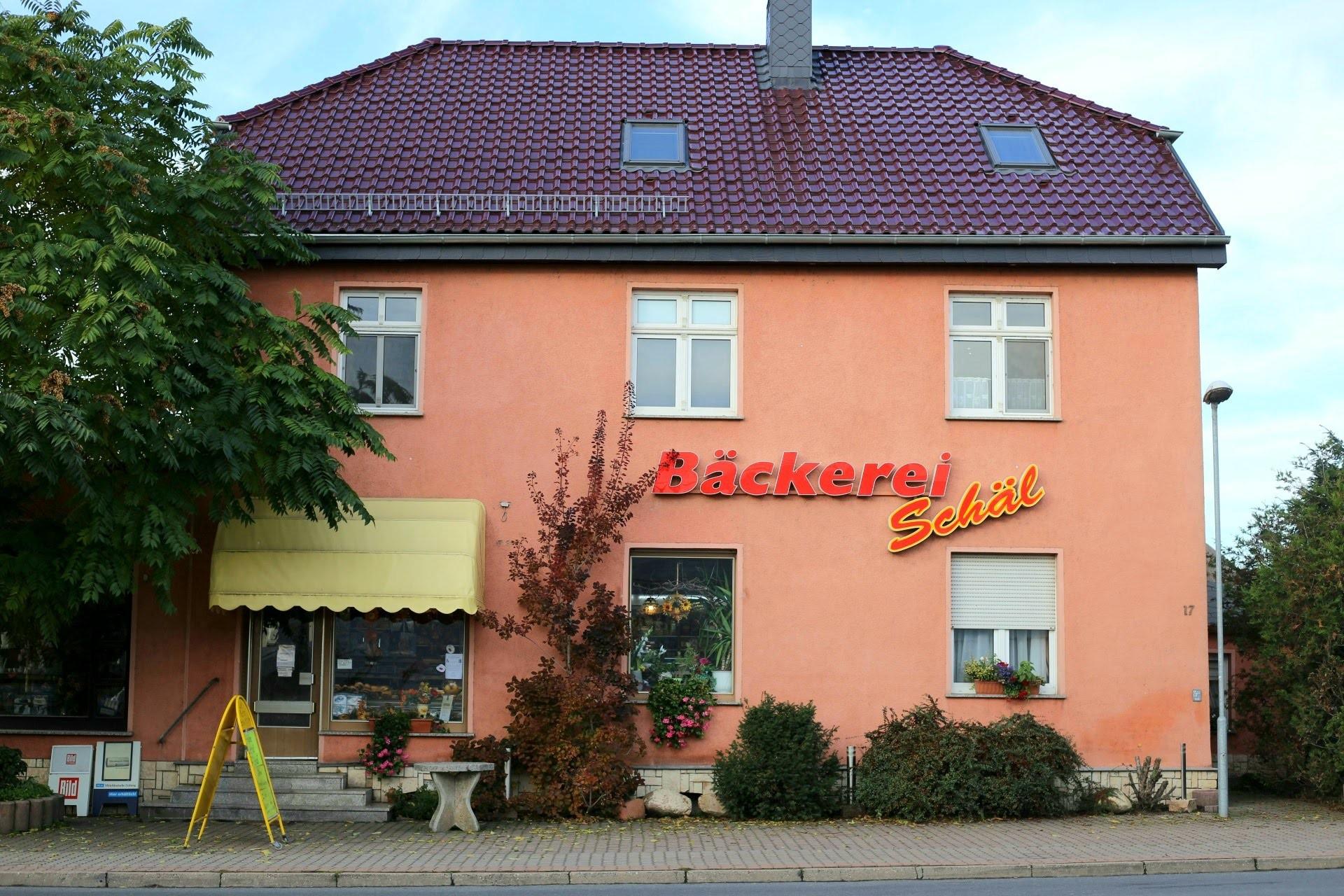 Das ist die Hauptzentrale von Bäckerei Schäl in Teutschenthal.