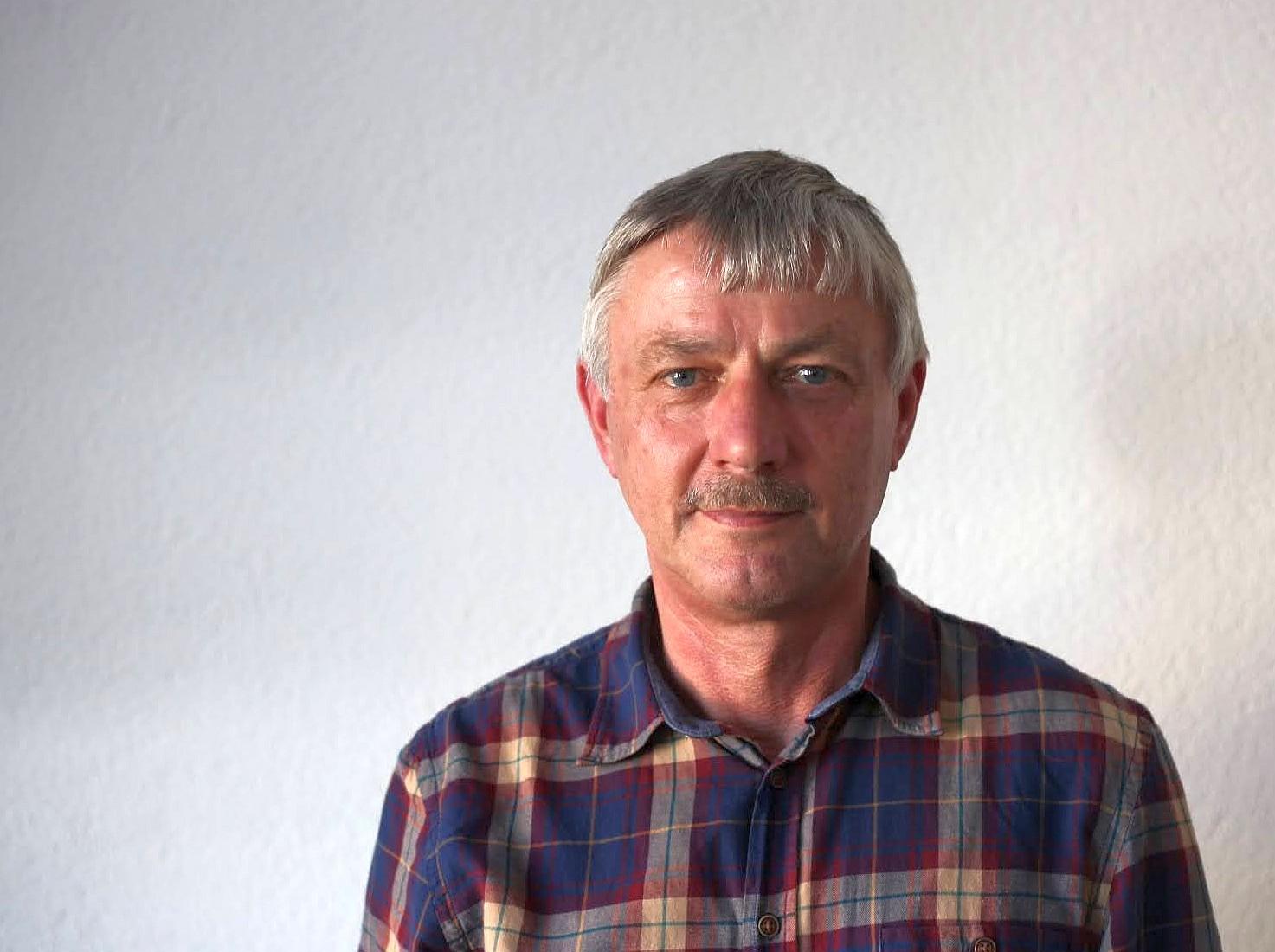 Herr Plötner von der Agrargenossenschaft Kauern ist leidenschaftlicher Landwirt. (Foto: Sven Wernicke)