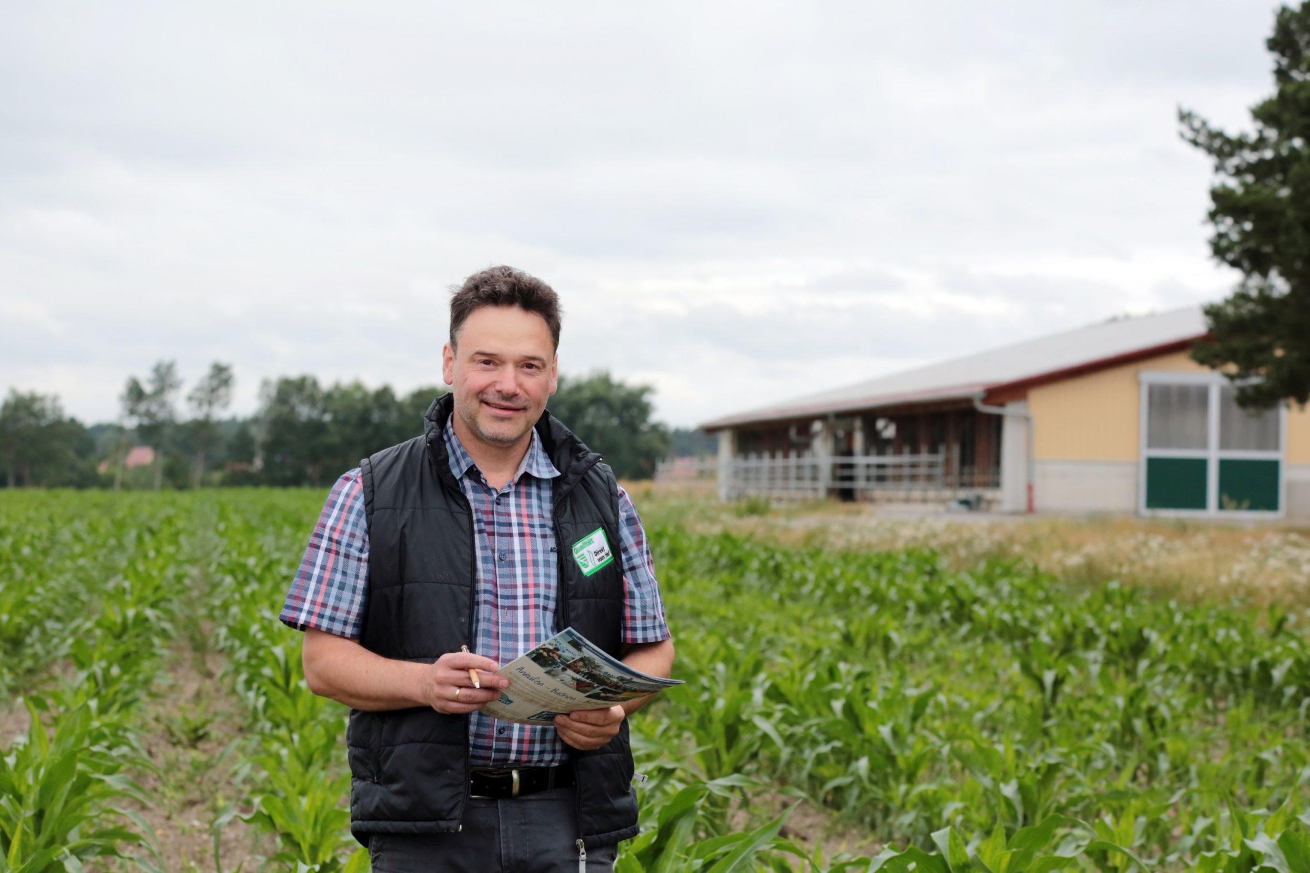 Tobias Kockert konzentriert sich in der Krabat Milchwelt auf die Landwirtschaft. (Foto: Krabat Milchwelt)