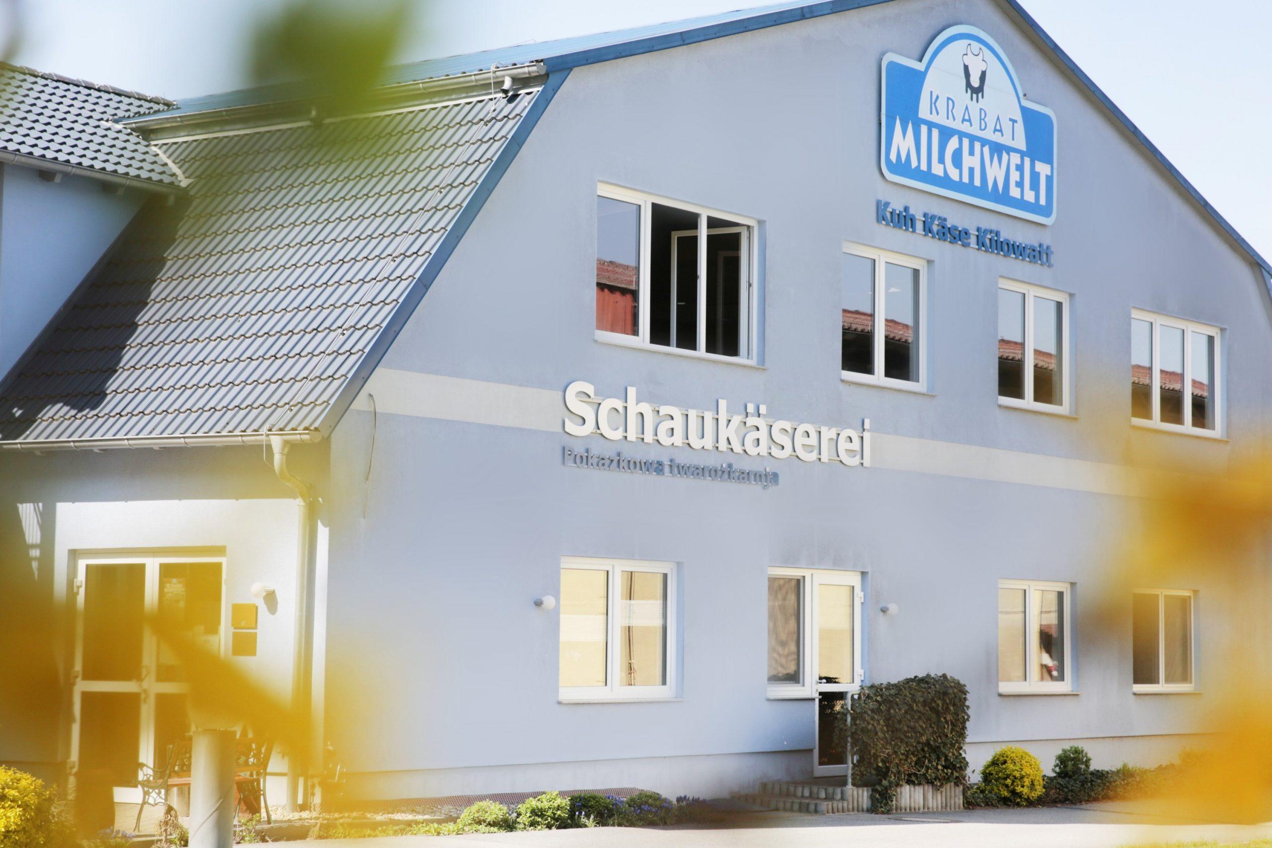 Die Krabat Milchwelt im Herzen der Lausitz. (Foto: Krabat Milchwelt)